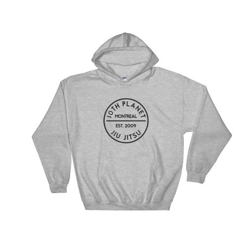 10th Planet Montreal Hoodie Sport Grey