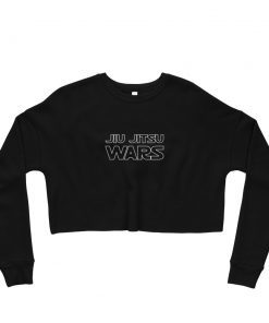Jiu Jitsu Wars Women's Cropped Sweatshirt Black