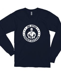 Choke Hazard Long Sleeve Shirt Navy