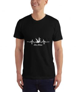 Jiu Jitsu Heart Beat T-Shirt Mockup