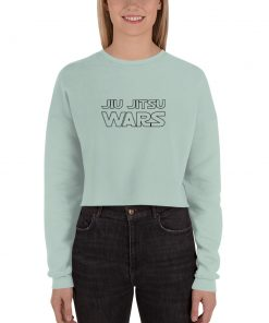 Jiu Jitsu Wars Women's Cropped Sweatshirt Mockup