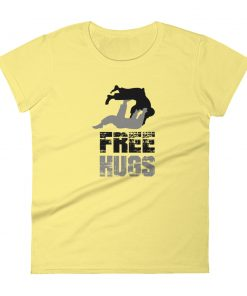 Free Hugs Women's T-Shirt Yellow