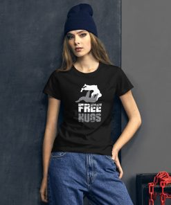Free Hugs Women's T-Shirt Mockup