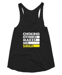 Choking Others Women's Tank Top Tri-Black
