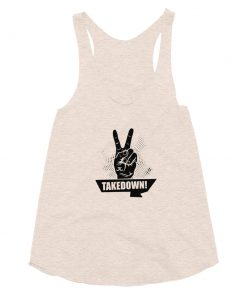 Takedown Women's Tank Top Tri-Oatmeal