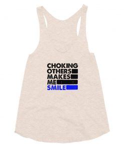 Choking Others Women's Tank Top Tri-Oatmeal