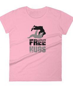 Free Hugs Women's T-Shirt Pink