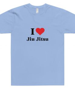 Love Jiu Jitsu T-Shirt Light Blue