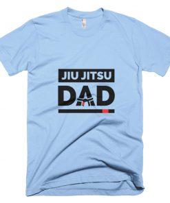 Jiu Jitsu Dad T-Shirt Baby Blue