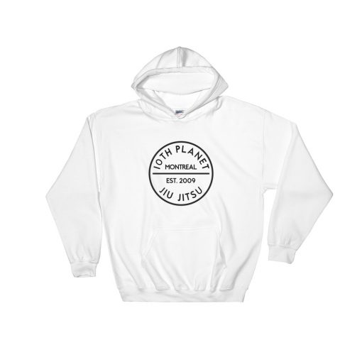 10th Planet Montreal Hoodie White