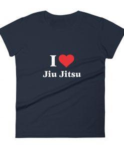 Love Jiu Jitsu Women's T-Shirt Navy