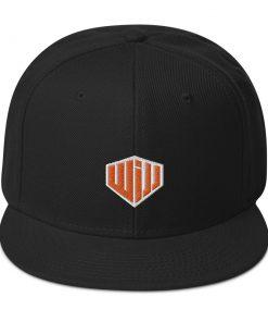 West Island Jiu Jitsu Snapback Hat black