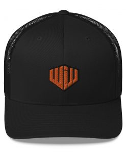 West Island Jiu Jitsu Trucker Cap Black