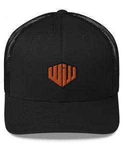 West Island Jiu Jitsu Trucker Cap Black