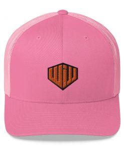 West Island Jiu Jitsu Trucker Cap Pink