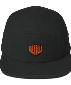 West Island Jiu Jitsu Camper Cap black