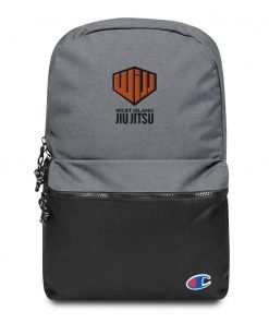 west island jiu jitsu backpack front