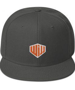 West Island Jiu Jitsu Snapback Hat heather grey