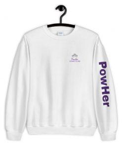 PowHer Unisex Sweatshirt 12