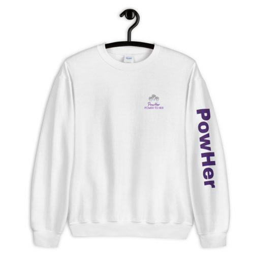 PowHer Unisex Sweatshirt 6