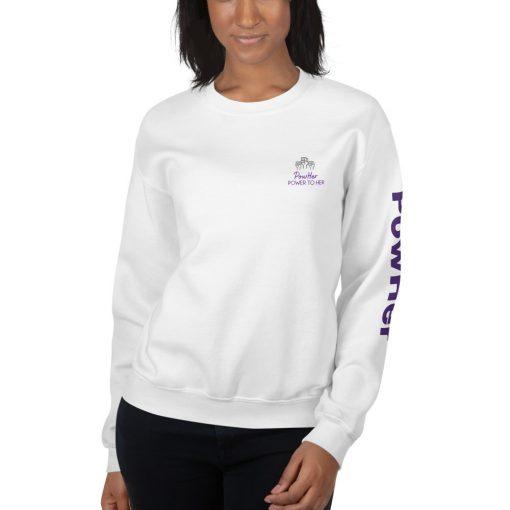 PowHer Unisex Sweatshirt 5