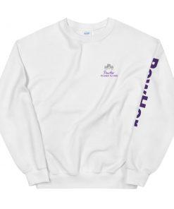 PowHer Sweatshirt white 2