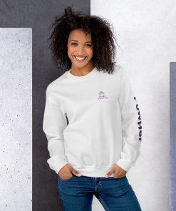 PowHer Unisex Sweatshirt 13