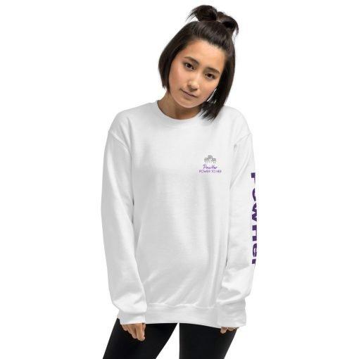PowHer Unisex Sweatshirt 4