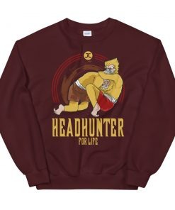 Headhunter for Life Sweatshirt red