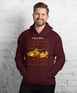 f*ck it try a leg lock hoodie mockup