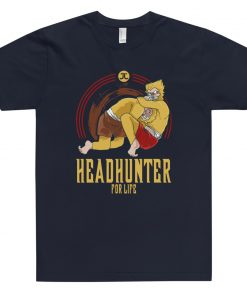 Headhunter for life t-shirt navy