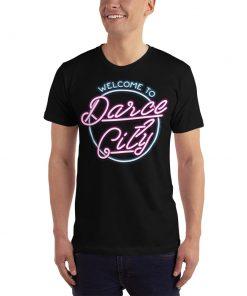 welcome to darce city t-shirt mockup