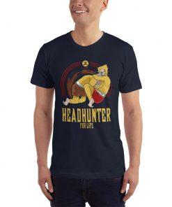 Headhunter for life t-shirt mockup