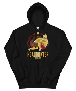Headhunter for Life Hoodie black