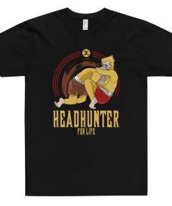 Headhunter for life t-shirt black