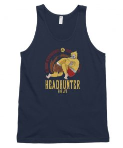 headhunter for life tank top navy