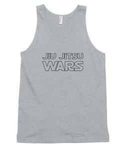 jiu jitsu wars tank top gray