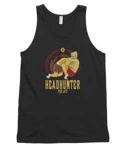 headhunter for life tank top black