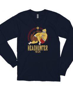 Headhunter for Life Long Sleeve Shirt navy