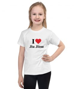 Love Jiu Jitsu Kids T-Shirt 7