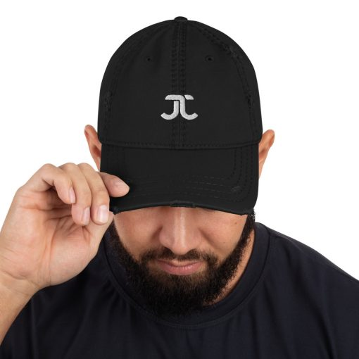 JJXF Distressed Dad Hat 3