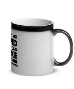 Choke it Out Glossy Black Magic Mug 4