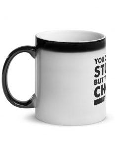 Choke it Out Glossy Black Magic Mug 5