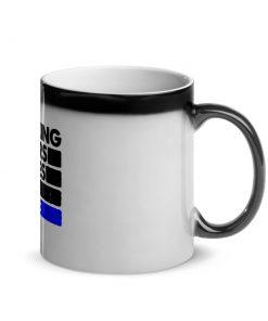 Choking Others Glossy Black Magic Mug 4