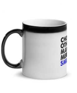 Choking Others Glossy Black Magic Mug 5