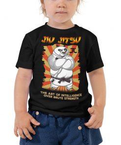 Intelligence Over Strength Toddler T-Shirt 4