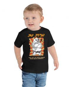 Intelligence Over Strength Toddler T-Shirt 5