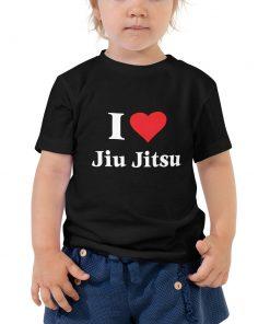 Love Jiu Jitsu Toddler T-Shirt 4
