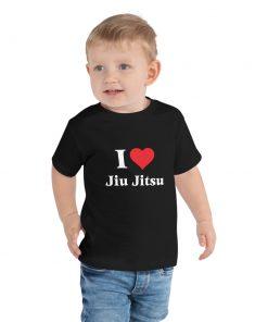 Love Jiu Jitsu Toddler T-Shirt 5