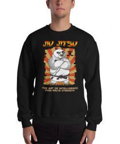 Intelligence over Strength Sweatshirt 4
